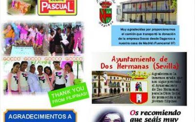 Agradecimientos 2011