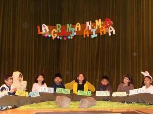 Fiesta niños ONG manos unidas